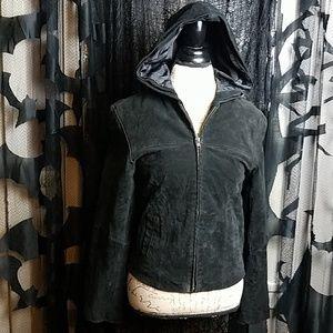 Marc Mattis soft leather bike jacket
